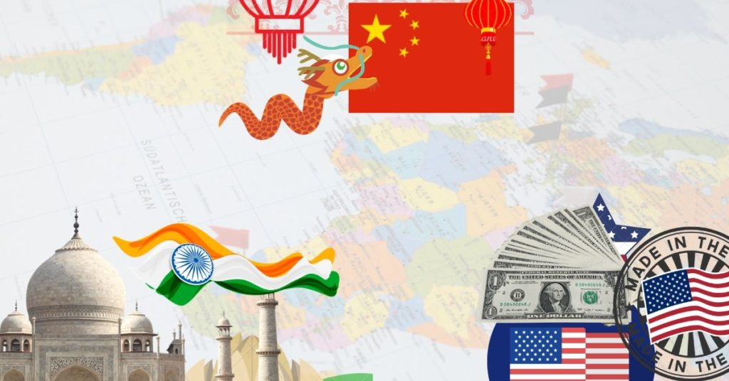 Can India Overtake the US and China as the Strongest Economy? #india #economy #gdp #money